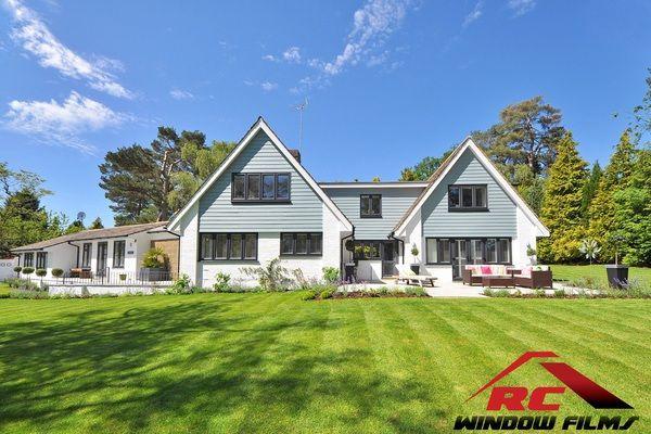Benefits Of Home Window Tinting Cda Rental Property Tinted House Windows Luxury Garden