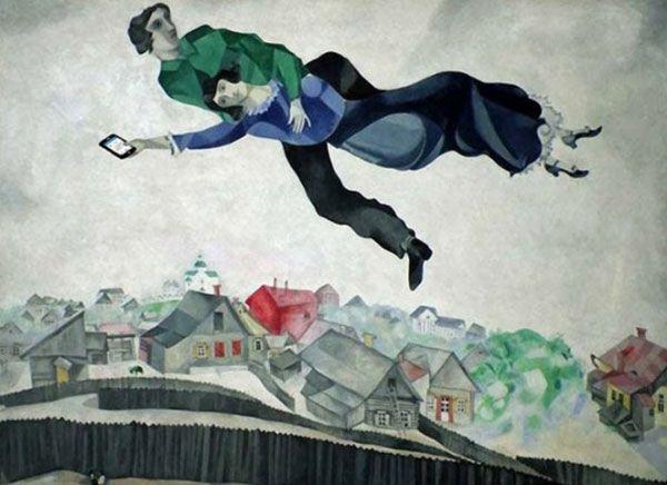 Il progetto artistico Art x Smart di Kim Dong-kyu è forse uno dei più originali che si possono vedere in circolazione in questo periodo. Kim ha selezionato alcuni dei quadri più famosi al mondo, come Viandante sul mare di nebbia (1818) di Caspar David Friedrich o Ragazza col turbante (1665-1666) di Johannes Vermeer, e li ha aggiornati inserendo dei dispositivi contemporanei come iPhone, tablet e pc.