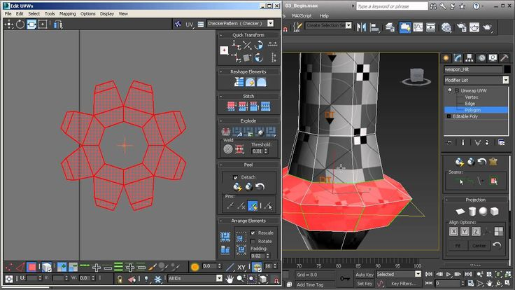 3ds Max Top Tip: Create UV Maps using Cylindrical Projections
