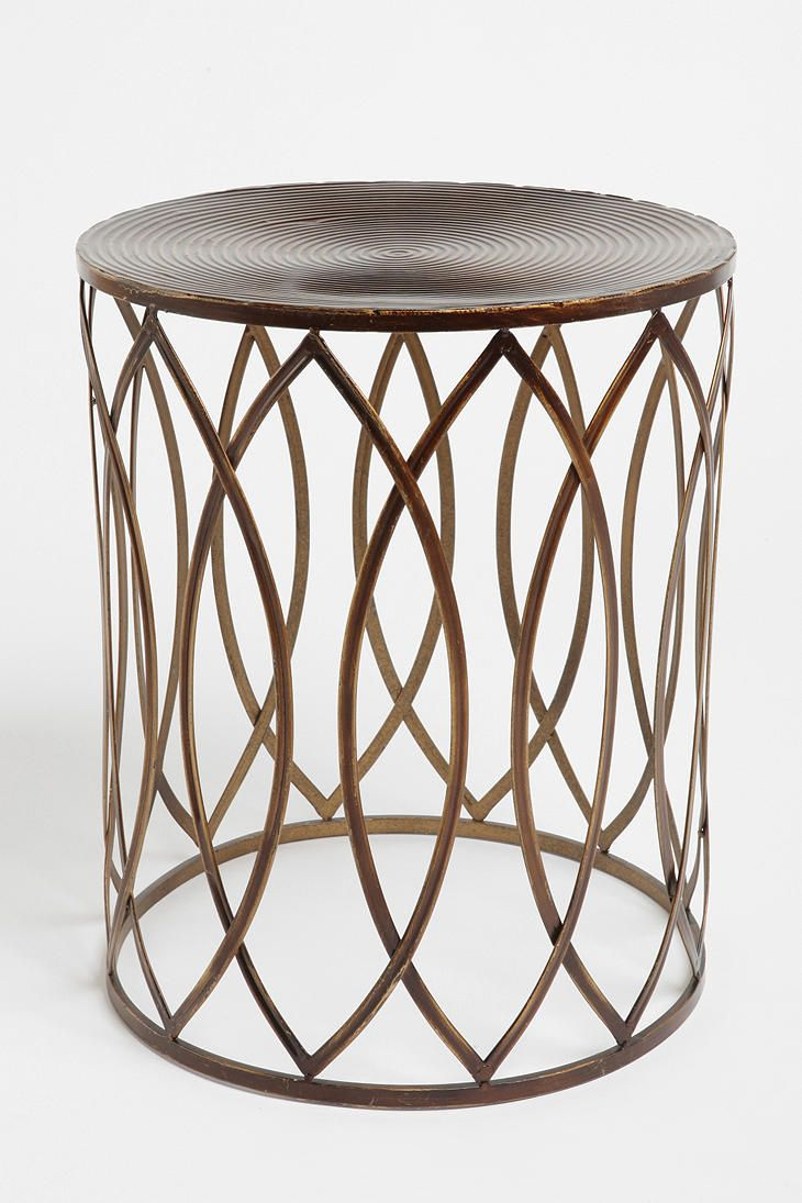 Concentric Metal Side Table  #UrbanOutfitters