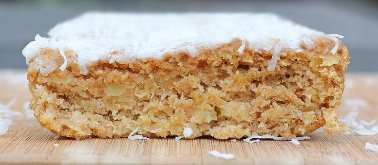 Coconut Pineapple Breakfast Cake - absolutely delicious!  We ate almost the whole loaf in one sitting.