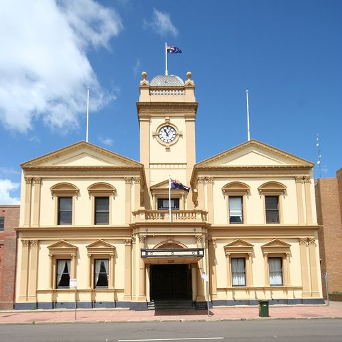 Maitland Town Hall, NSW 1882