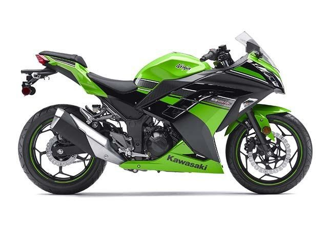 The 2013 Kawasaki Ninja 300