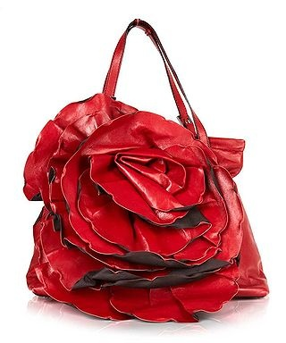 Valentino Leather flower shoulder bag in red, Designer Bags Sale, Valentino bags & accessories , Secret Sales