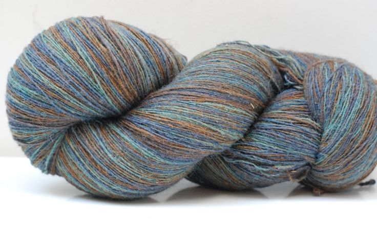 Latvian Hand-dye wool 6/1, col. Rushes near river 265g