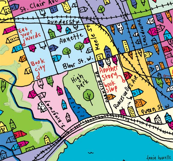 Tania Howells - Authors for Indies Day Map