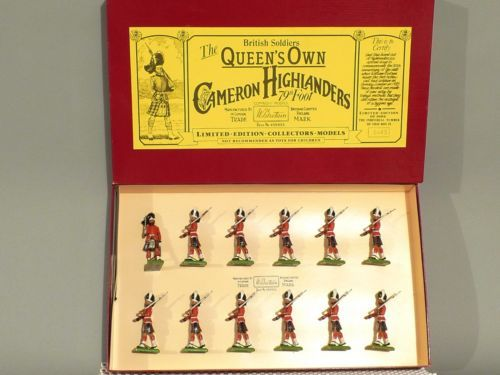 Britains Toy Soldiers No 5183 Queens Own Cameron Highlanders 79TH FOOT No 0138