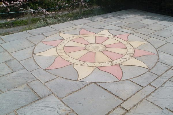 Backyard Paver Designs Model Enchanting Decorating Design