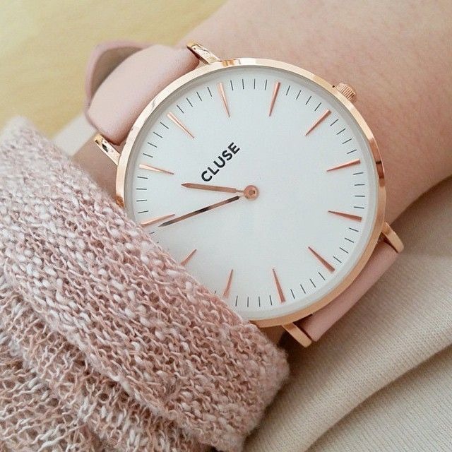cheapest hot sale online new high quality CLUSE La Bohème Rose Gold White/Pink CL18014 ...
