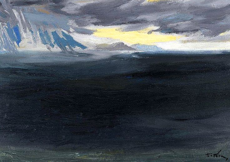 PANAYIOTIS TETSIS b. 1925 - Seascape