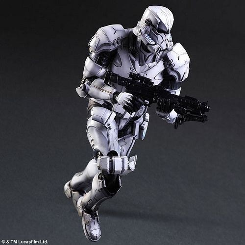 """暢銷玩具系列「Play Arts 改」""""變體版""""(VARIANT/ヴァリアント),大好評的嶄新系列《星際大戰 變體版》,繼變體版「達斯‧維德」之後,第二彈將推出銀河帝國的主力士兵『帝國暴風兵』變體版。 集結設計師、原型師 ..."""