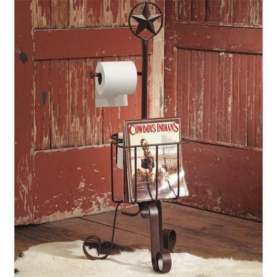 Western Star Bath Stand  Reeeeeeeally Want This For My Bathroom!