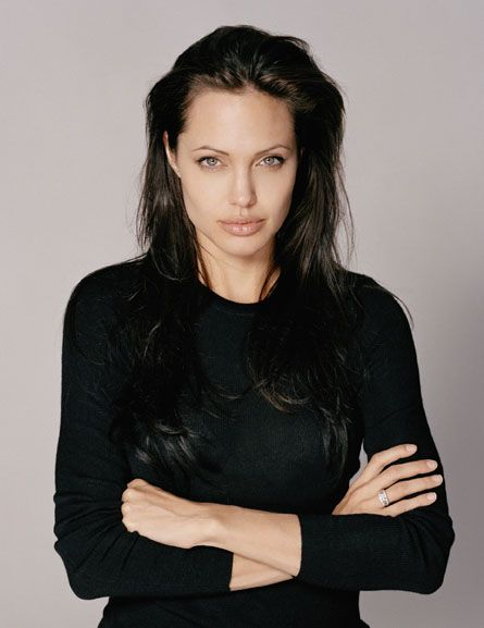 Angelina Jolie  --  He really liked her