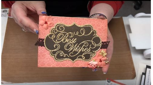 Foils & Leafing Flakes with Simply Defined Embossing Folders & Foam by SCRAPBOOKING MADE SIMPLE!!! - Exciting to watch our You Tube Video #204. Click on the link!