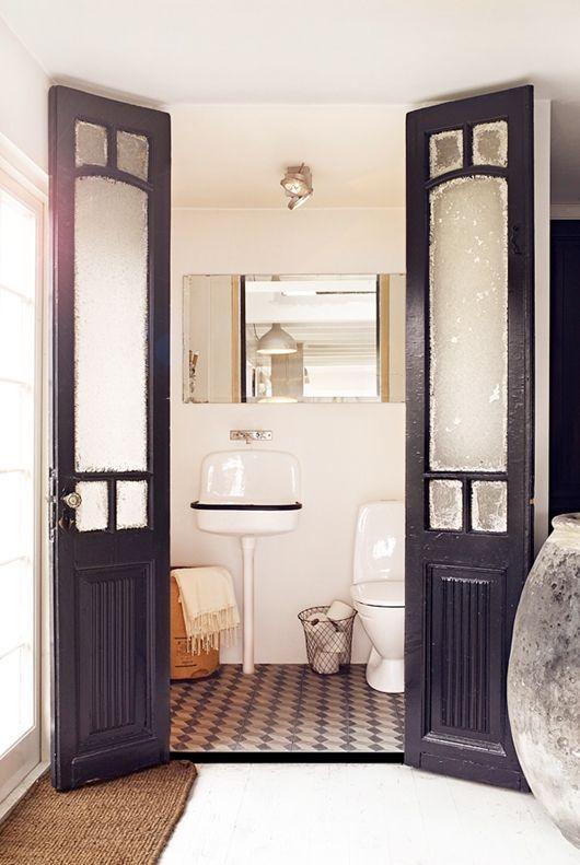 Puerta Baño Hacia Afuera:1000 imágenes sobre Puertas , baños y cocinas en Pinterest