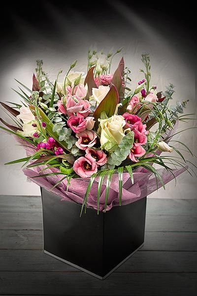 Make it a Simply Better Mother's Day, with an exquisite Hand Tied Gift. Simply Better Hand Tied Lizianthus & Versilia Rose Gift Bouquet €35.