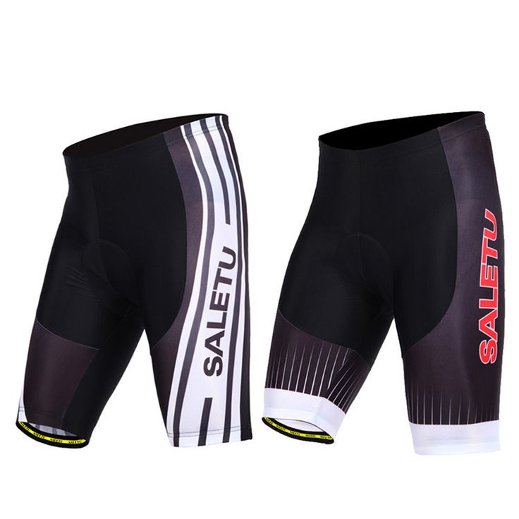 Quickly Dry Summer Unisex Bike/Riding/Bicycle/ Cycling Shorts With 4D Silicone Cushion Padded 2-Colors C0018