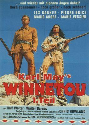 Die Bahnlinie der Great Western Railroad wird auf Betreiben des Banditen Santer mitten durch das Apachengebiet gelegt: Den durch die begradigte Streckenführung entstehenden Profit will sich Santer mit dem Bauleiter Bancroft teilen. Old Shatterhand, der Vermessungsingenieur der Bahngesellschaft, durchschaut den hinterlistigen Plan – allerdings zu spät: Santer nimmt den Häuptlingssohn Winnetou gefangen und liefert ihn dem verfeindeten Stamm der Kiowa-Indianer aus.