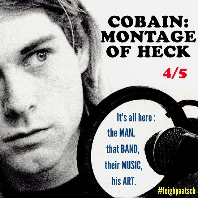 One Shot Review - KURT COBAIN : MONTAGE OF HECK. #kurtcobain #montageofheck #brettmorgen #nirvana #courtneylove #nevermind #OneShotReview