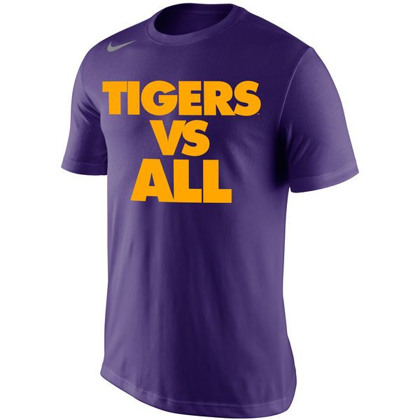 LSU Tigers Nike Selection Sunday All T-Shirt - Purple - $25.99