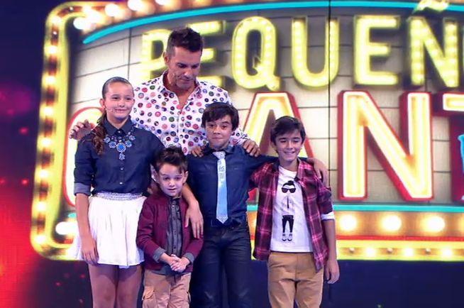 Pablo, Pedro, María y Álvaro, ganadores individuales de 'Pequeños Gigantes'