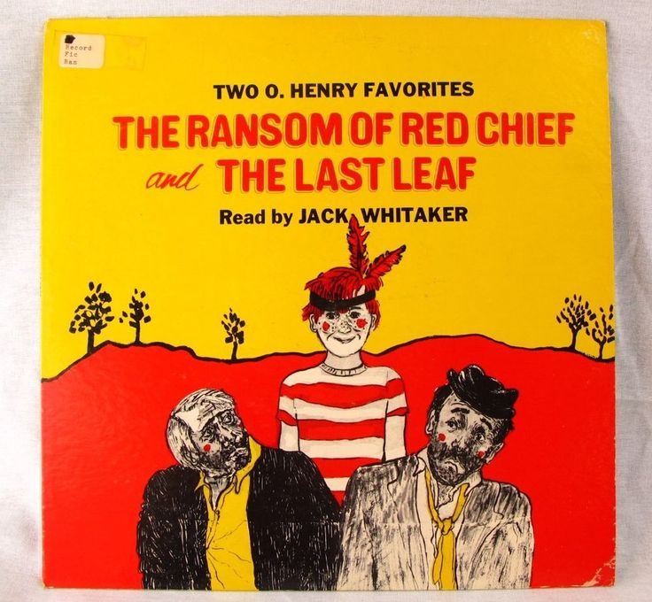 ransom red chief Now, the voa special english program, american stories (music) we present the short story the ransom of red chief by o henry here is shep o'neal with the story.