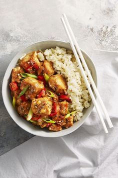 Spicy Chicken Miso Stir-Fry - GoodHousekeeping.com