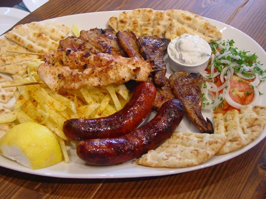 Mixed Grill for two