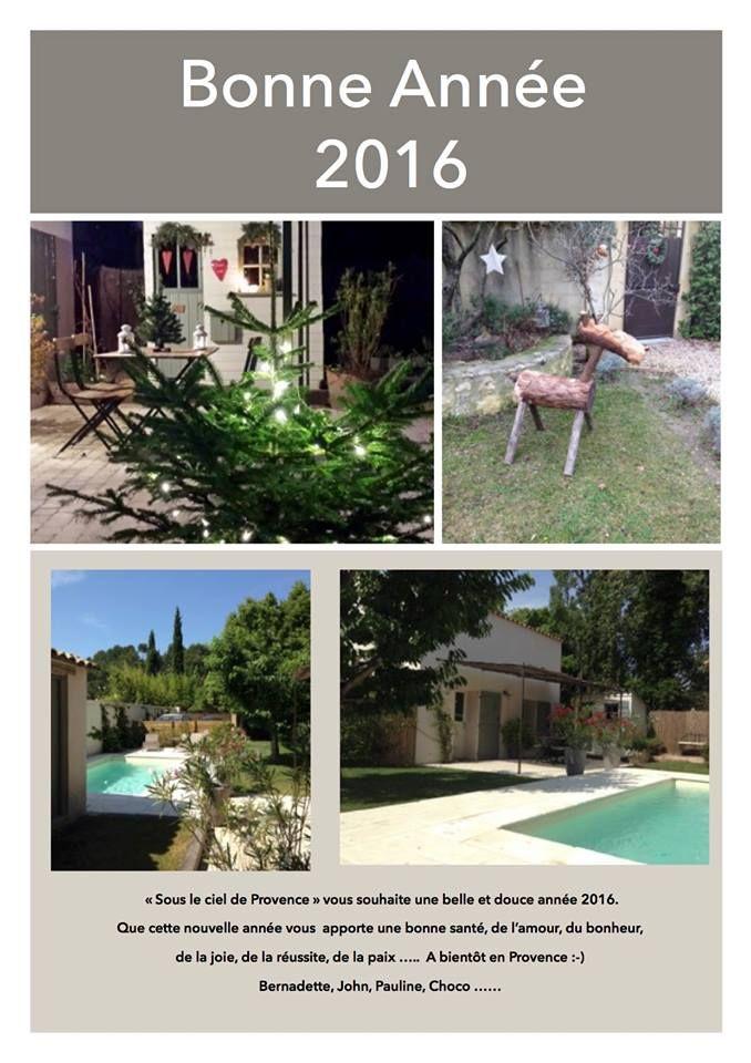 """Belle et douce année 2016 """"Sous le ciel de Provence"""""""