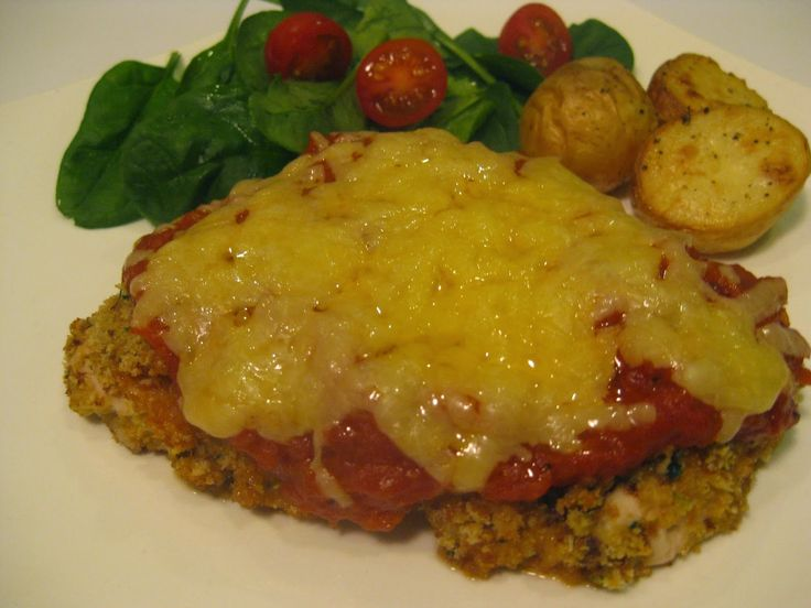 My Thermomix Kitchen - Blog for healthy low fat Weight Watchers friendly recipes for the Thermomix : Chicken Parmagiana