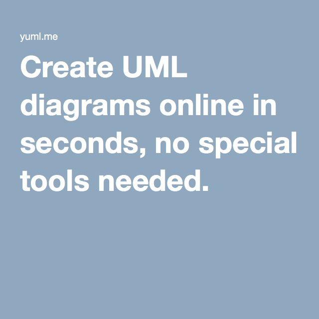 Create UML diagrams online in seconds, no special tools needed.