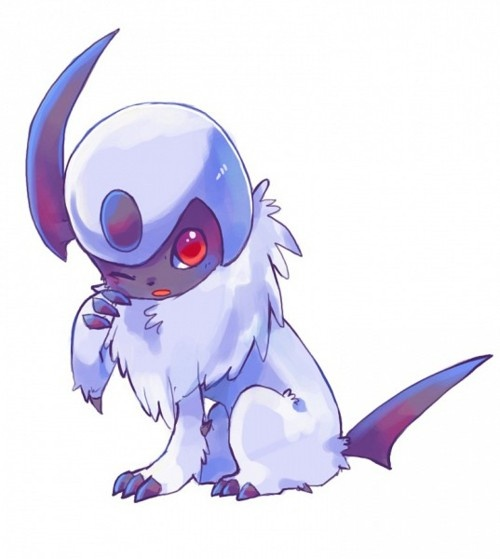 17 best images about absol the pokemon of disaster on - Absol evolution ...