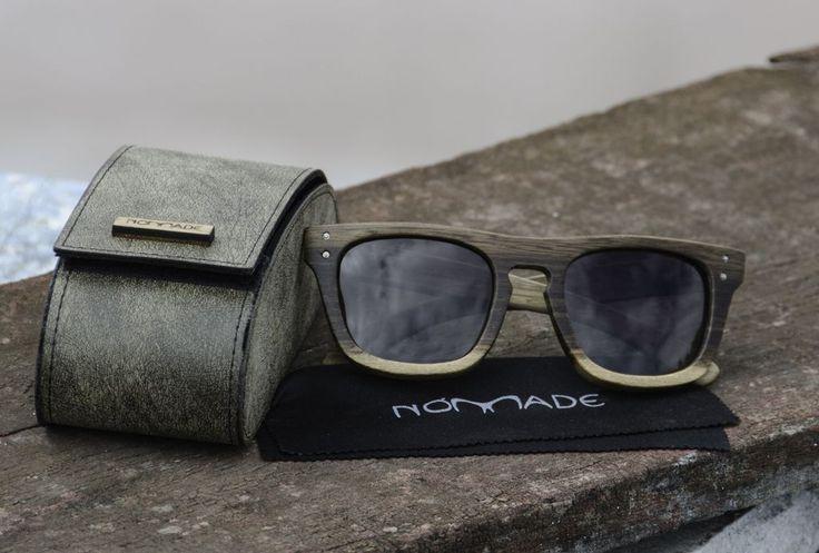 Anteojo de madera, lentes de sol - Nomade
