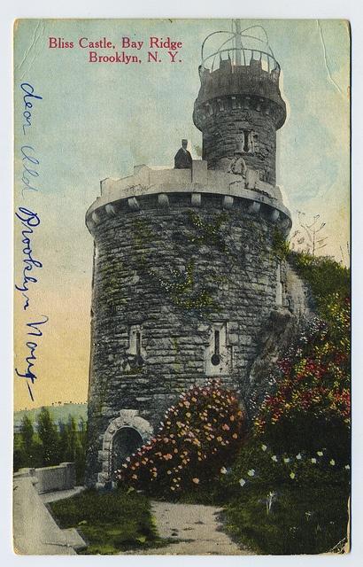 Bliss Castle, Bay Ridge Brooklyn, N.Y circa 1915-1920 by extrabox, via Flickr