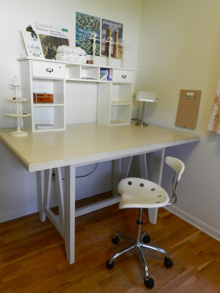 MAKING IKEA INTO A BUILT IN STANDING DESK Craft