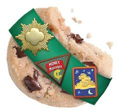 There may be more to Girl Scouts than cookies, but the association is strong with me. :)