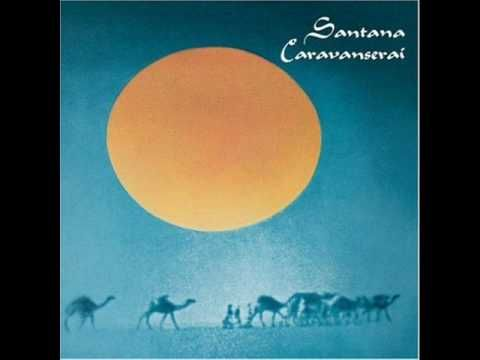 SANTANA, Song Of The Wind from Caravanserai, the album that accompanied all my travels