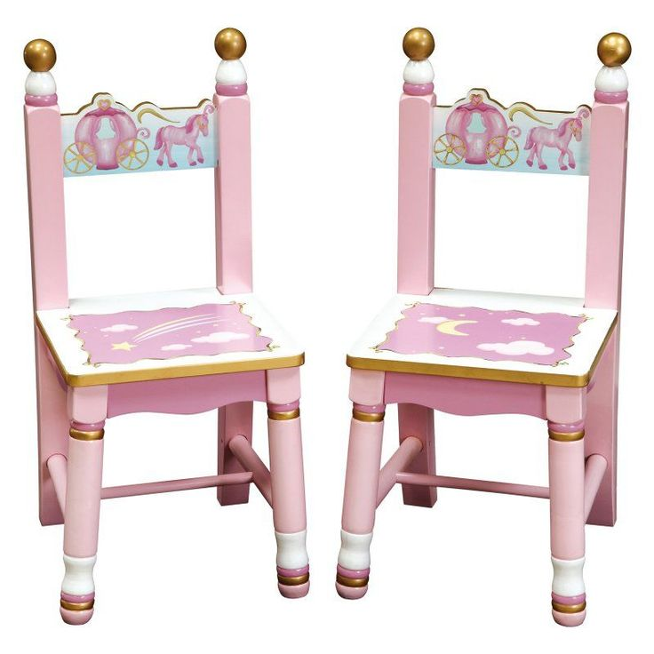 Guidecraft Princess Chairs - Set of 2 - G86303