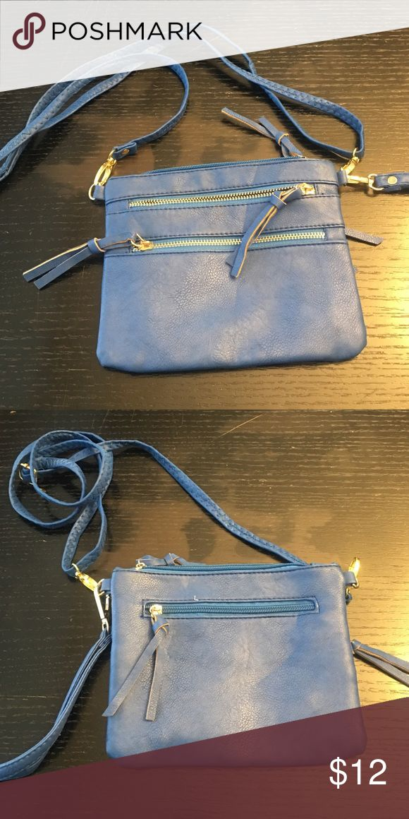 Royal Blue Crossbody/Clutch Purse Royal Blue Royal Blue Crossbody/Clutch Bag NEVER WORN Boutique Bags Clutches & Wristlets