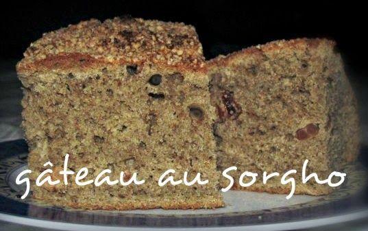 Mangez tunisien: Gâteau à la farine de sorgho