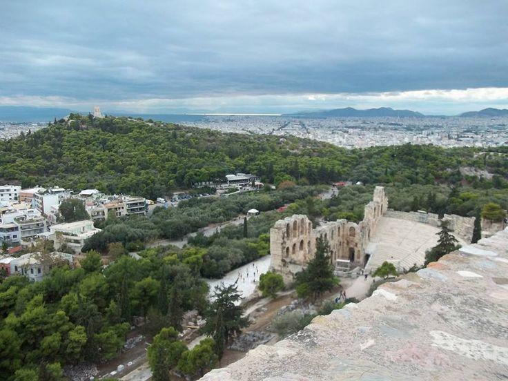Ωδείο Ηρώδου Αττικού (Herod Atticus Odeon) στην πόλη Αθήνα, Αττική