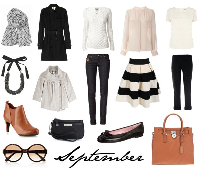 lisbet e. | Capsule Wardrobe for September