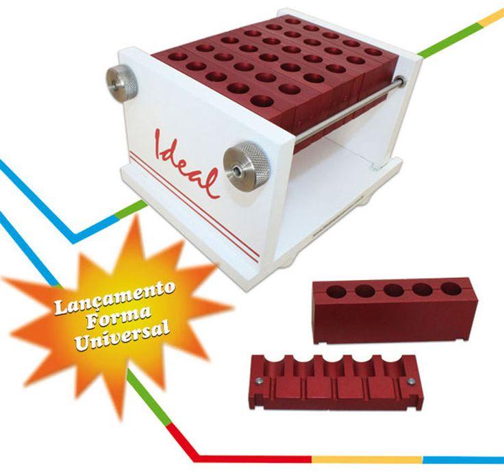Faça vários produtos em um único equipamento como:  • Pirulitos • Batons • Comprimidos Orodispersível 0,750gr • Comprimidos Orodispersível 0,200gr • Comprimidos Orodispersível 0,150gr • Comprimidos Orodispersível 0,075gr  Basta trocar os módulos e fazer qualquer produto com o mesmo molde, é muito versátil. #equipamentos #poliforma #forma #ideal #capsulas #comprimidos #laboratorios #embalagem