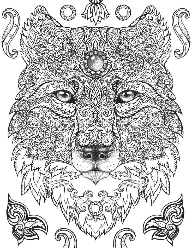 isnt this a gorgeous coloring page a free sample from the jungle book a coloring book enjoy - Awesome Coloring Books