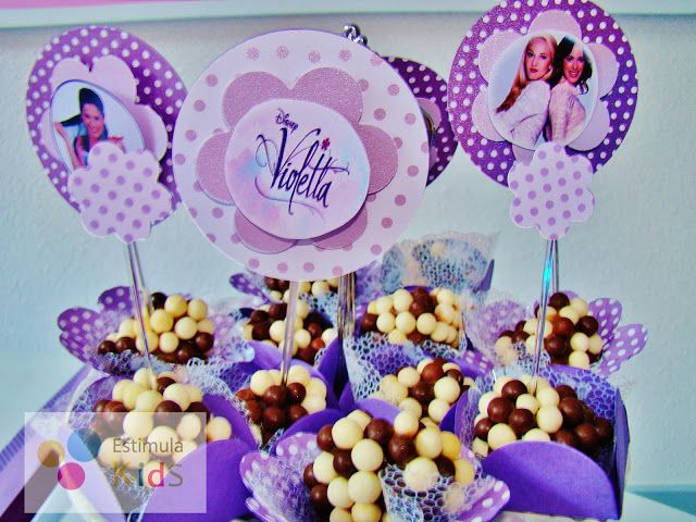 Estimula Kids: Festa com o tema Violetta - Festa Spa - Aniversário de 10 anos