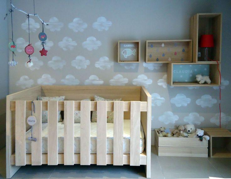 17 mejores im genes sobre habitaciones infantiles en - Habitaciones pintadas infantiles ...
