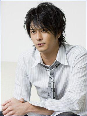 "Hayami Mokomichi ~ My favourite dramas starring him : ""Zettai Kareshi"", ""Densha Otoko"", ""Gokusen"""