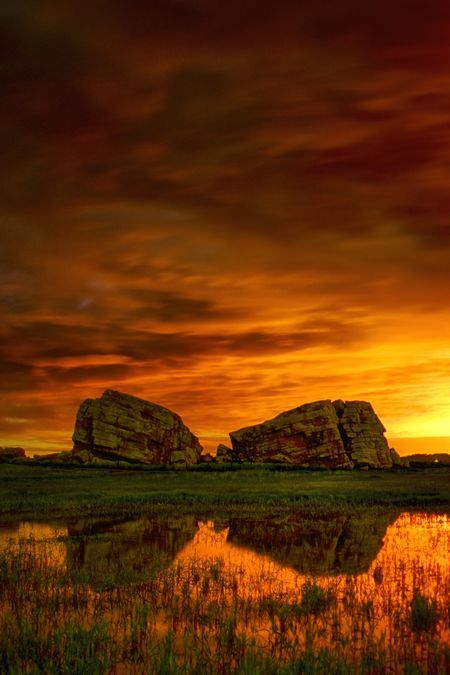 Okotoks Erratic - Alberta Photo by Brad Russell -- National Geographic Your Shot
