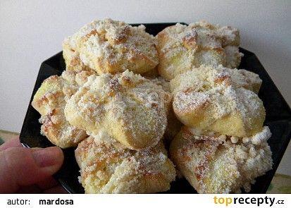Vázané koláčky nekynuté recept - TopRecepty.cz