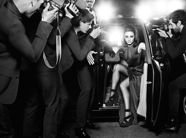 STUNNING Mila Kunis for Miss Dior Fall 2012 Campaign #FASHIONnews